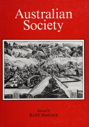 Cover of: Australian society | edited by Keith Hancock.