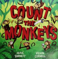 Cover of: Count the monkeys | Mac Barnett