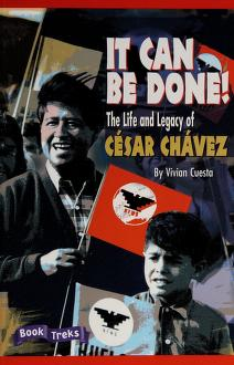 Cover of: It Can Be Done! the Life and Legacy of Cesar Chavez | Vivian Cuesta