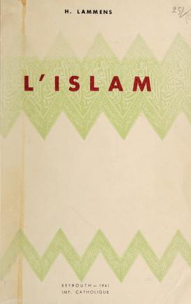 Cover of: L' islam   Henri Lammens