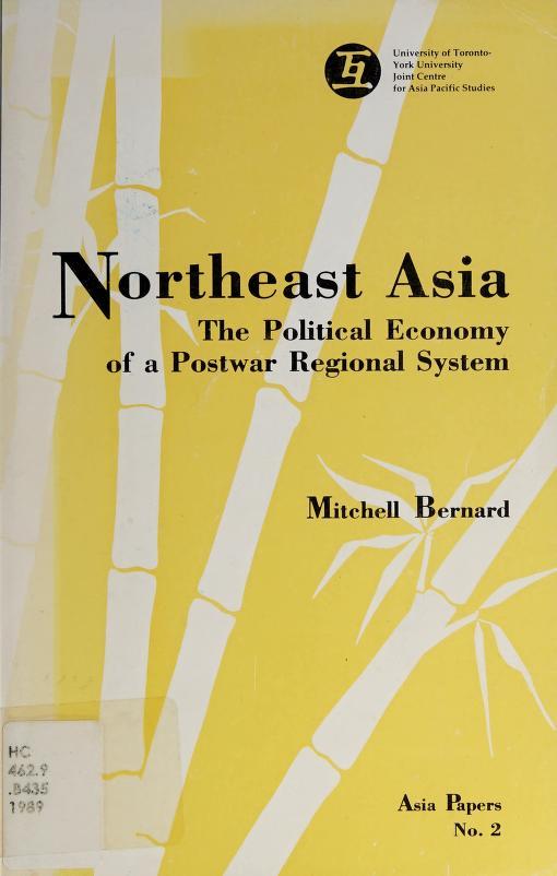 Northeast Asia by Mitchell Bernard