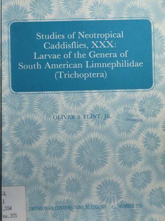 Cover of: Studies of neotropical caddisflies, XXX | Oliver S. Flint