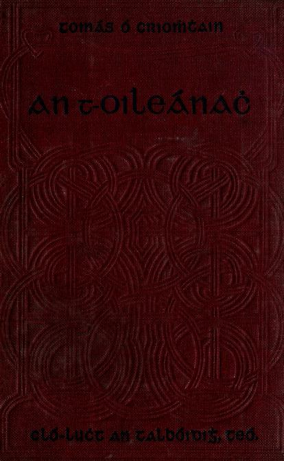 An t-Oileánach by Tom Criomhthain