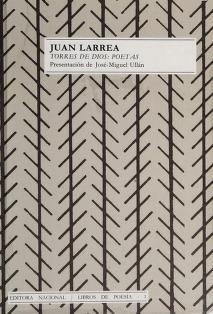 Cover of: Torres de Dios, poetas | Juan Larrea